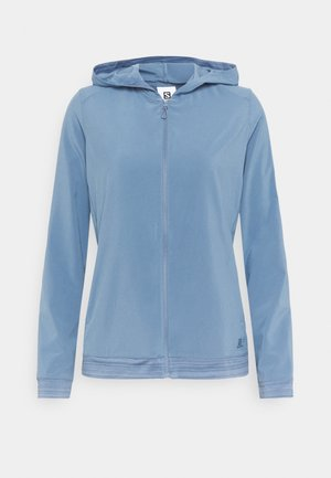 COMET LIGHT HOODIE  - Outdoor jacket - copen blue