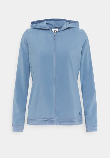 COMET LIGHT HOODIE  - Giacca softshell - copen blue