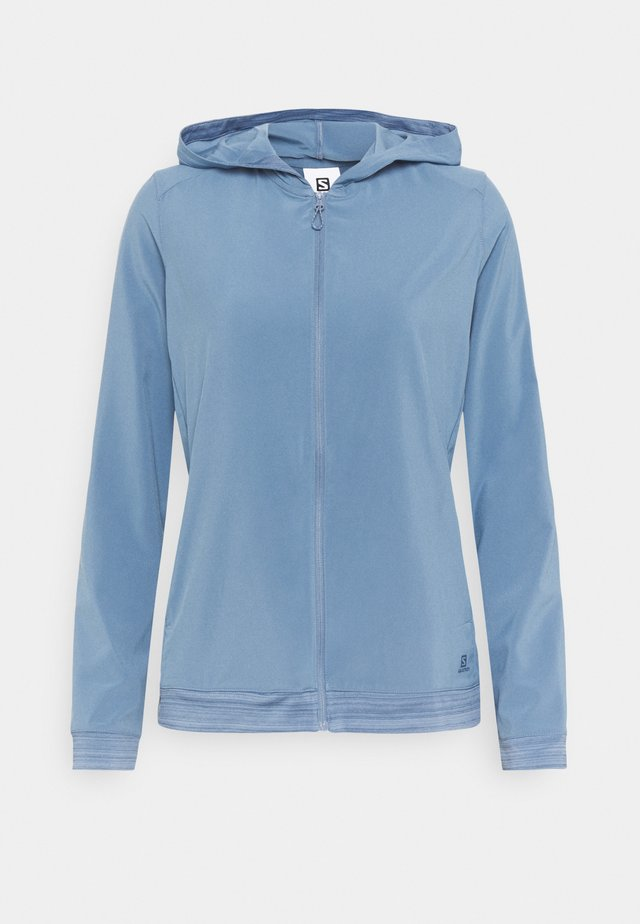 COMET LIGHT HOODIE  - Outdoorová bunda - copen blue