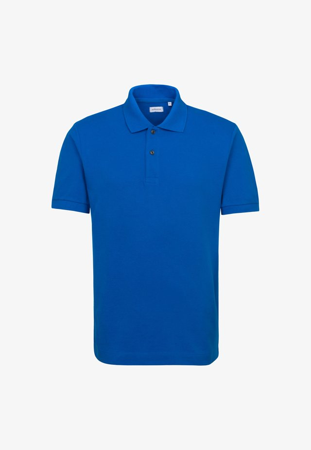 Polo shirt - mittelblau