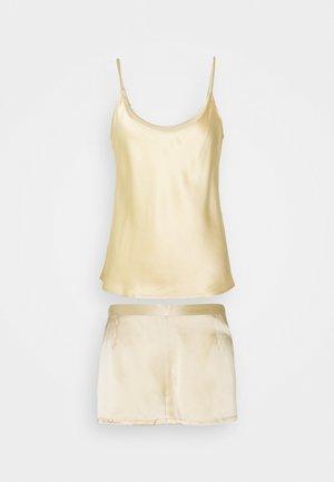 SHORT PAJAMAS SET - Pyjama set - beige stone