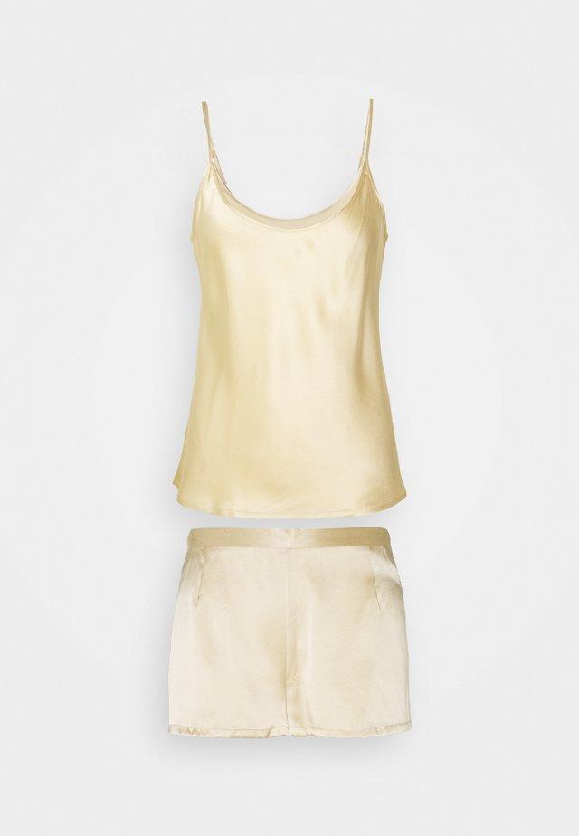 SHORT PAJAMAS - Pyjamas - beige stone