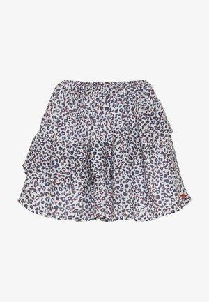 FLUIDSKIRT FLOUNCED PRINTED - A-snit nederdel/ A-formede nederdele - white