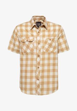 MIT VICHYKARO - Overhemd - rostbraun