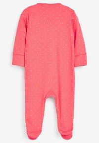 Next - 3 PACK LADYBIRD STRIPE - Sleep suit - pink - 4