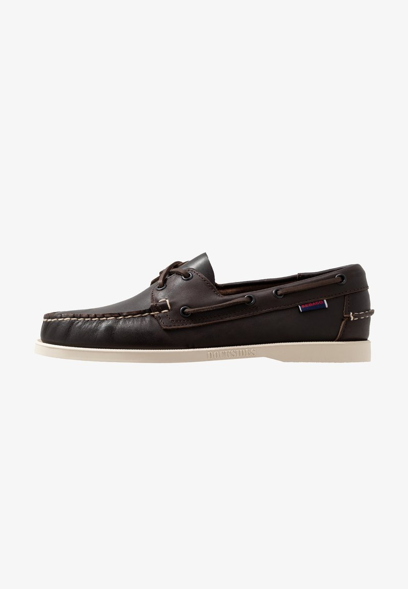 Sebago - DOCKSIDES PORTLAND - Boat shoes - dark brown