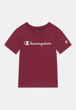 AMERICAN CLASSICS CREW NECK UNISEX - Print T-shirt - bordeaux