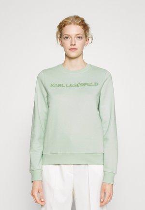 KANDY KRUSH LOGO - Sportinis megztinis - pastel green