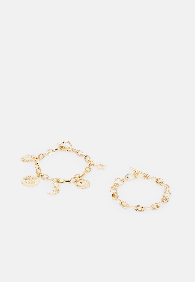 Monki - SOPRANO BRACELET 2 PACK - Bracelet - gold-coloured