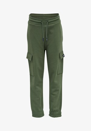 Cargo trousers - thyme