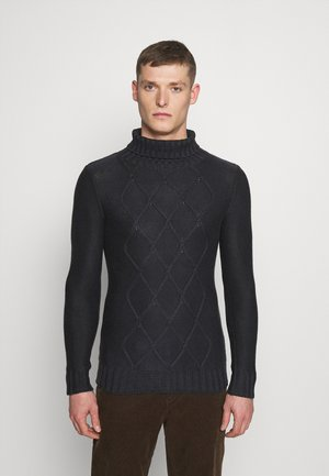 TURTLE NECK - Jumper - anthra