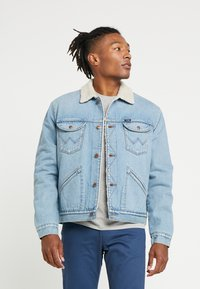 Wrangler - SHERPA - Light jacket - bleached denim - 0
