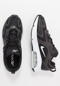 Nike Sportswear - AIR MAX 200 - Baskets basses - black/white/off noir/metallic silver - 1