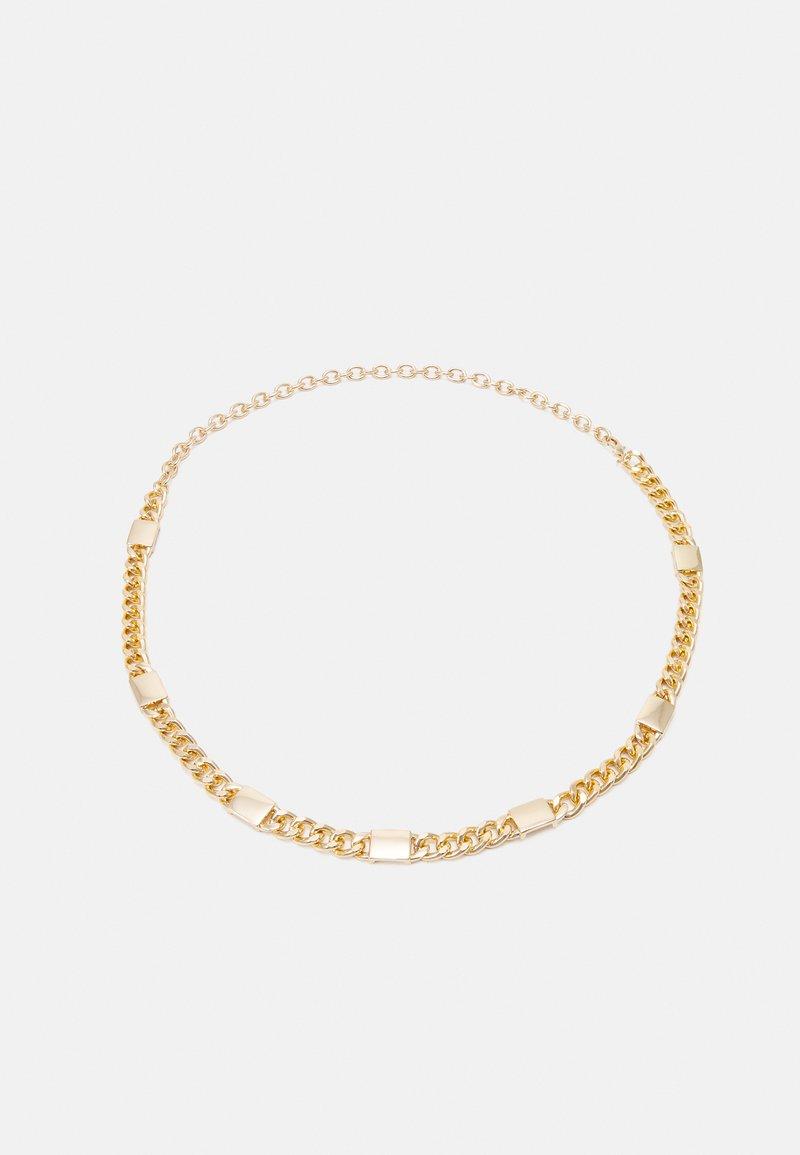 Pieces - PCKATTHIA WAIST BELT KEY - Midjebelte - gold-coloured
