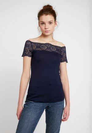 PCSIE - Print T-shirt - maritime blue