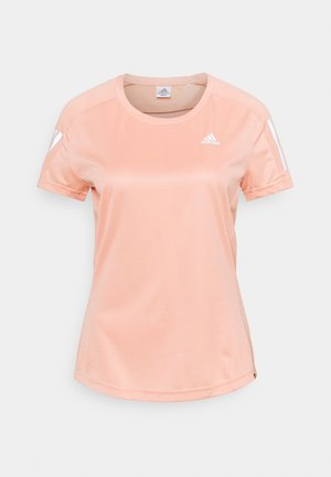 OWN THE RUN TEE - T-shirts med print - ambient blush