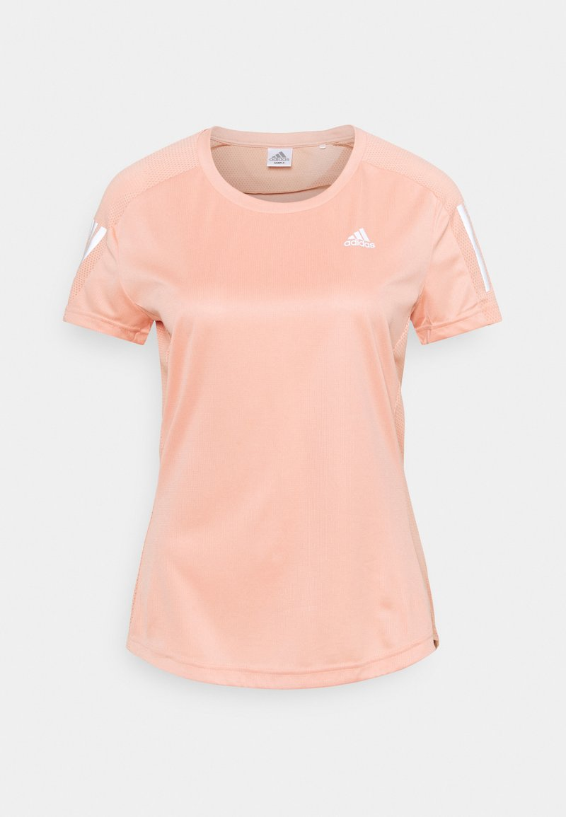 adidas Performance - OWN THE RUN TEE - T-shirts med print - ambient blush