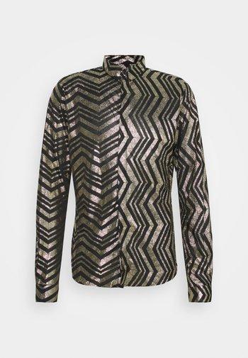 CHEGRIN - Camisa - black/gold