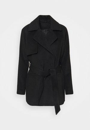 2ND LANA - Short coat - black