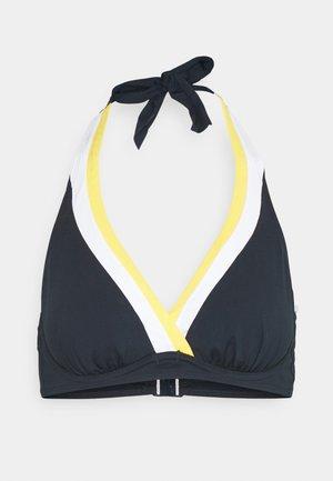 ALLANS BEACH - Bikini top - navy