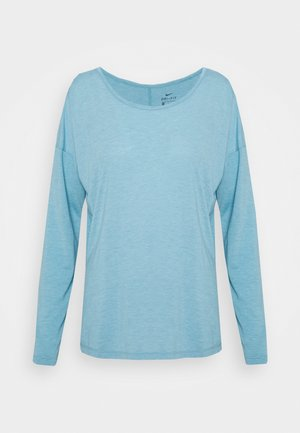 DRY LAYER  - Sports shirt - cerulean heather/glacier blue/armory blue
