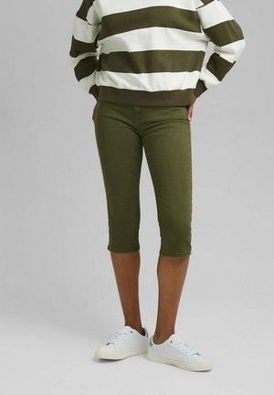 SKINNY CAPRI - Pantaloni - khaki