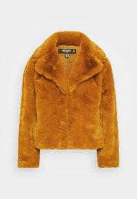 Missguided Petite - SHORT COLLAR COAT - Winterjas - camel - 6