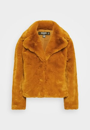 SHORT COLLAR COAT - Winterjas - camel