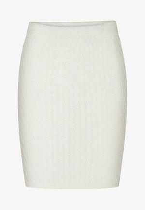 Pencil skirt - cremefarben