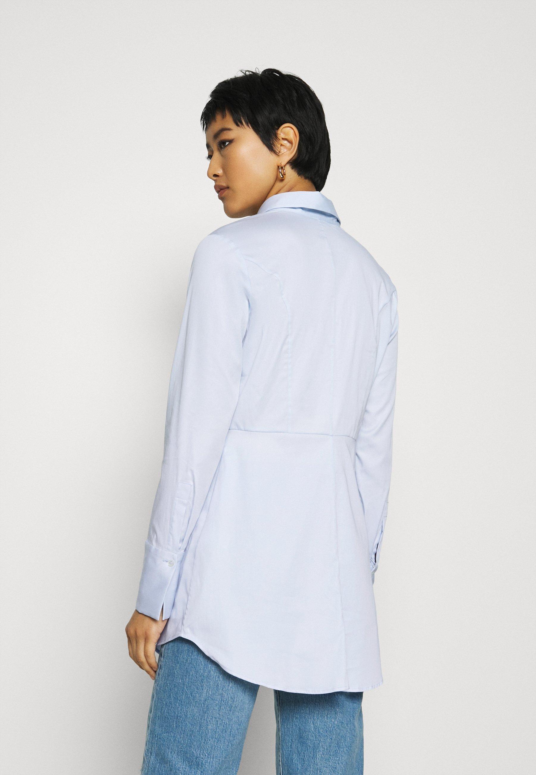 For Sale Women's Clothing van Laack ELLEN Button-down blouse blau YfX0PhtCL