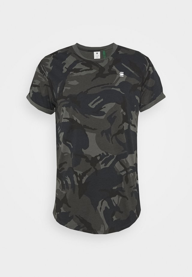 LASH R T S\S - T-shirt med print - night dutch