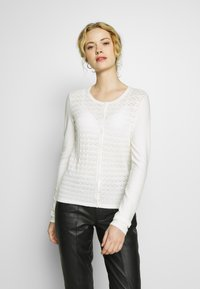 Anna Field - Neuletakki - white - 0