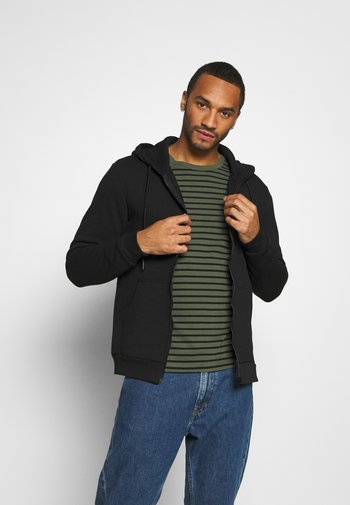 ONSCERES LIFE ZIP HOODIE - Zip-up sweatshirt - black