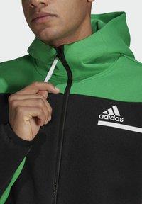 adidas Performance - Z.N.E HOODIE PRIMEGREEN HOODED TRACK TOP - Zip-up hoodie - black - 4