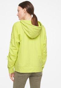comma casual identity - Zip-up sweatshirt - lime - 2
