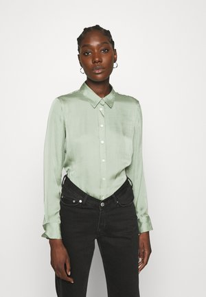DILLON SOFT - Button-down blouse - garden sage