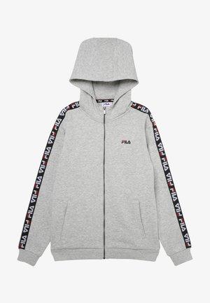 ADARA ZIP JACKET - veste en sweat zippée - light grey melange