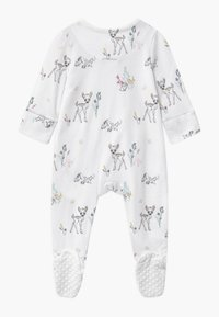 Cotton On - DISNEY BAMBI LONG SLEEVE ZIP UNISEX - Dupačky na spaní - white - 1