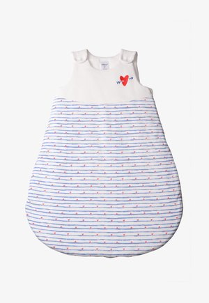 Baby's sleeping bag - white