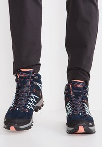CMP - RIGEL MID TREKKING SHOE WP - Outdoorschoenen - blue/giada/peach - 0