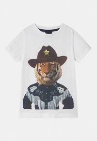 The New - TUCKER - T-shirt con stampa - bright white - 0