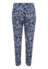 Kaffe Curve - Trousers - blue paisley print - 5