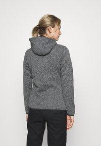 Campagnolo - WOMAN JACKET FIX HOOD - Fleece jacket - ghiaccio/graffite/nero - 2