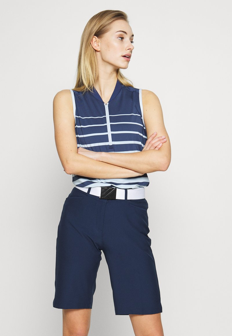 adidas Golf - Funkční triko - tech indigo