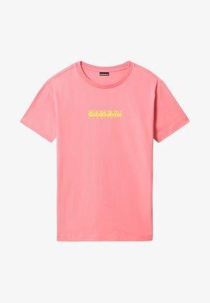 BEATNIK - T-shirt med print - pink strawberry