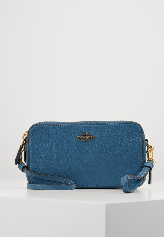 POLISHED PEBBLE KIRA CROSSBODY - Borsa a tracolla - lake