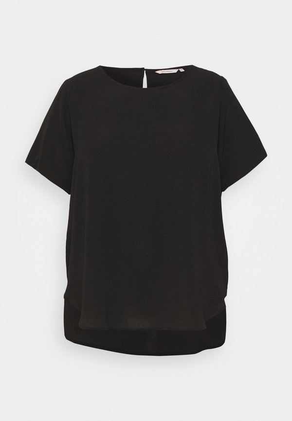 ONLY Carmakoma CARVICA - Bluzka - black/czarny DSBL