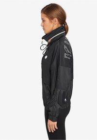 khujo - NABILA - Light jacket - black - 3