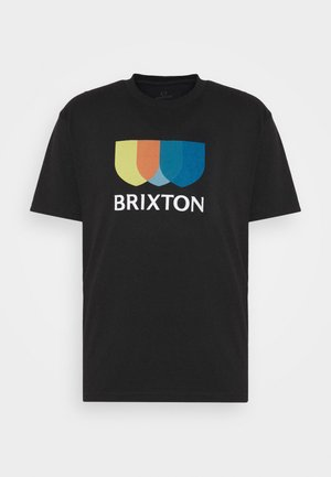 ALTON - Print T-shirt - black