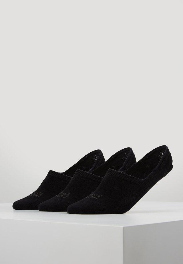 3-PACK - Socquettes - black